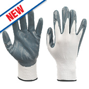 Nitrile-Coated Palm Gloves Large