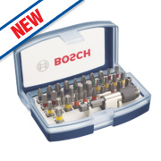Bosch Screwdriver Bit Set 32 Pieces