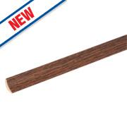 Vitrex Dark Oak Scotia Laminate Beading 2m Pack of 10