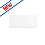 Slab Kitchens Handleless Bridging Door White Gloss 276 x 597mm