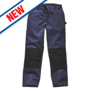 Dickies Grafter Work Trousers Navy / Black 34