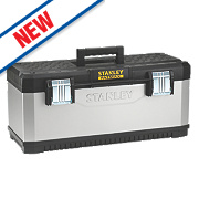 "Stanley FatMax 26"" Metal Plastic Tool Box"