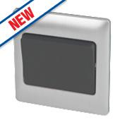 Schneider Electric 1-Gang 2-Way 16AX Light Switch Mercury Silver