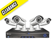 Swann HDR4-8200 4-Channel CCTV DVR Kit & 4 Cameras