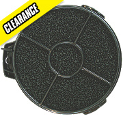 Cooker Hood Filter Black 135mm Pack of 2