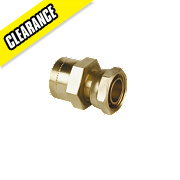Conex Cuprofit Straight Tap Connector 15mm x ½""