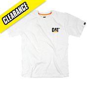 CAT TRADEMARK T SHIRT WHITE L
