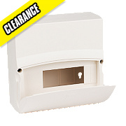 MK Sentry 6-Way 8-Module Insulated Consumer Unit Enclosure