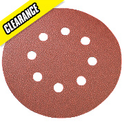 125mm Sanding Disc 240 Grit Pack of 10