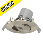 LAP Adjustable Downlight Brushed Chrome 7W 240V
