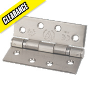 Eurospec Grade 13 Ball Bearing Hinge Satin Stainless Steel 102 x 76mm