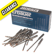 Erbauer SDS Plus Drill Bit Trade Pack 20Pc