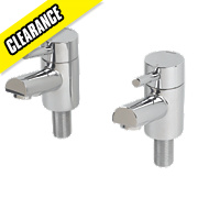 Bristan Prism Bath Taps Pair
