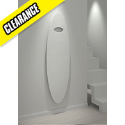 Kudox Matrix Oval Designer Radiator White H: 1600 x W: 450mm
