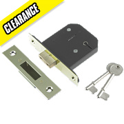 "Century 5-Lever Mortice Deadlock Brass Plated 2½"" / 64mm"