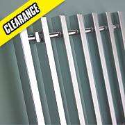 Kudox Filomena Designer Towel Radiator Chrome 800 x 800mm 403W 1570Btu