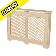 Wintherbrowne Radiator Cabinet Small Un-Finished 1017 x 180 x 800mm