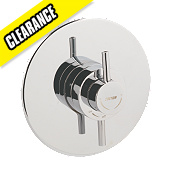 Triton Elina Thermostatic Mixer Shower Valve Built-In Chrome