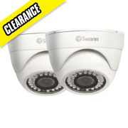 Swann PRO-743 Dome CCTV Security Camera Twin Pack