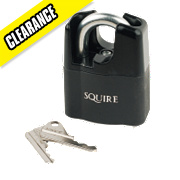 Squire Closed Shackle Padlock 51mm