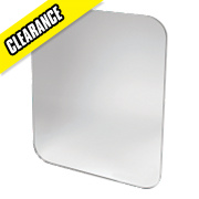 Swirl -LED Ovali Bathroom Mirror 400 x 12 x 500mm