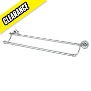 Moretti Henley Classic Double Towel Rail 660 x 148 x 100mm