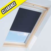 Roof Window Blackout Blind Navy 550 x 980mm