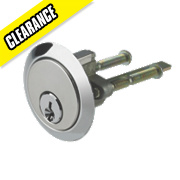 Century Replacement Night Latch Cylinder Polished Chrome-Plated 60mm