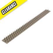 Prikka Grey Wall Spikes Pack of 8