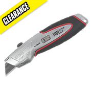 Forge Steel Retractable Knife & 3 Blades