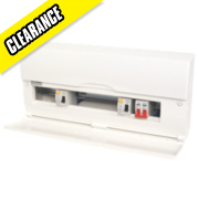 16-Way High Integrity Insulated Consumer Unit Dual 63A & 80A RCD