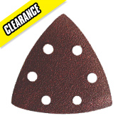Sandpaper Triangles 80 Grit Pack of 10