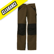 TIMBERLAND PRO 612 KNEEPAD TROUSERS BROWN W35 L33