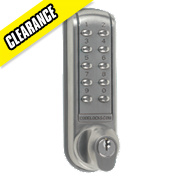Codelock CL2200BS Electrical Light Duty Push Button Lock Surface Deadbolt