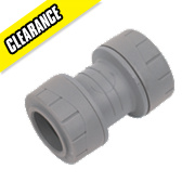 PolyPlumb Straight Couplings 22mm