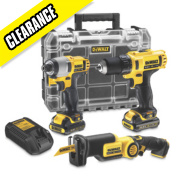 DeWalt DCK310S2T 10.8V 1.5Ah Li-Ion Cordless Triple Pack XR