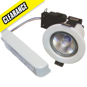 Sylvania Fixed Low Voltage Fire Rated Downlight White 12V