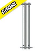 Kudox Fiametta Vertical Designer Radiator Chrome 1800 x 300mm 1020BTU