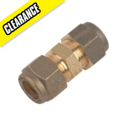 Straight Coupling 10mm Pack of 10