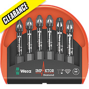 "Wera Impaktor Mini-Check Bits PZ ¼"" x 50mm"
