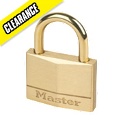 Master Lock Padlock Brass 50mm