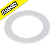 "Polywasher Toilet 1¼"" 60 x 43mm Pack of 5"