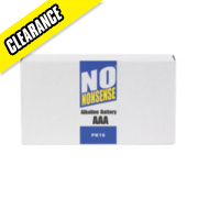 No Nonsense Alkaline Batteries AAA Pack of 16