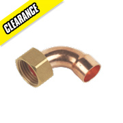 "Bent Tap Connector 15mm x ½"" Pack of 10"