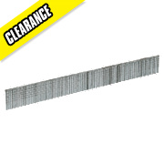 Bostitch Straight Brads Galvanised 18ga x 15mm Pack of 5000