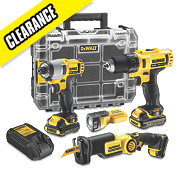 Dewalt DCK410S3FZT-GB 10.8V Li-Ion XR 4 Piece Kit