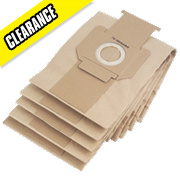 DeWalt DWV9401-XJ Paper Dust Bags Pack of 5