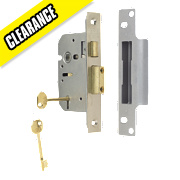 "ERA 5-Lever Mortice Sashlock Satin Nickel 2"" / 64mm"