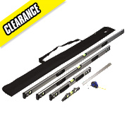 Forge Steel Level & Measure Set 6 Piece Set