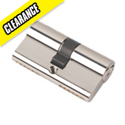 Securefast 6-Pin Euro Cylinder Lock 30-30 (60mm) Polished Nickel